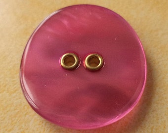 8 pink buttons 23mm 18mm (5181 5092) button pink