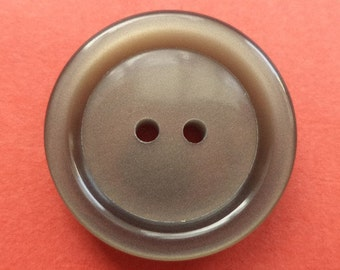 9 buttons grey brown 23mm (3197)