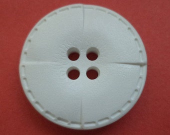 23 mm (1665) knob white 10 buttons