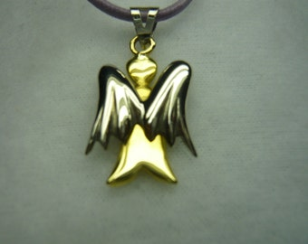 Discount 5% from EUR 298.00 to euro 283.00. Angel 18 K yellow and white gold