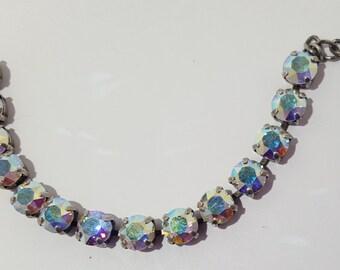 Swarovski Aurora Borealis Crystal Bracelet