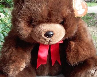 Ty Plush Teddy Bear, McGee 1990