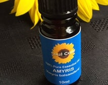 Amyris 100% Pure - Therapeutic Grade - Essential Oil -  10ml - Soul Cafe's Healing Scents' - Best Quality - Guaranteed Satisfaction