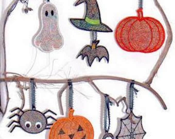 Halloween Threadies KMC  ( 10 Machine Embroidery Designs from ATW )