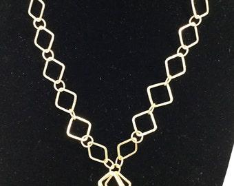 Vermeil Necklace, 18''