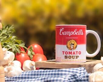 Andy Warholl Campbell's Soup Mug