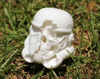 Star Wars - Dead Stormtrooper Helmet - 3D Printed