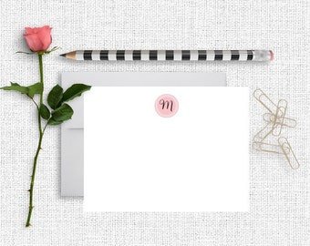 Personalized Monogram Stationery, Monogram Stationary, Personalized Stationery,  Monogram Note Cards, , Personalized Note Cards, MG01
