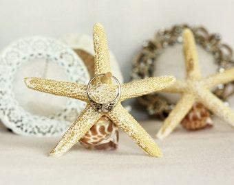 Ring Holder, Wedding Ring Holder, Starfish Ring Holder, Engagement Ring Holder, Beach Engagement Ring Holder, Bridal Ring Holder