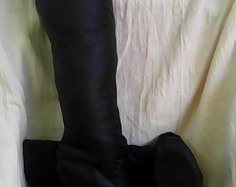 PHYA 2 Black Knee High Boots