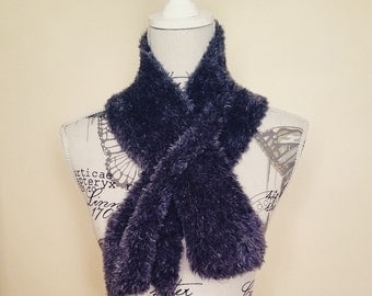 Fluffy Fashion Scarf -Handmade