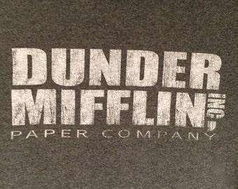 Dunder Mifflin Upcycled Pillowcase/Throw Pillow