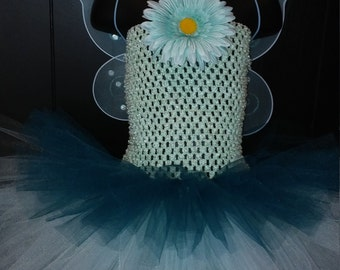 Fairy Dress Aqua/Turquois Size 3T - 4T