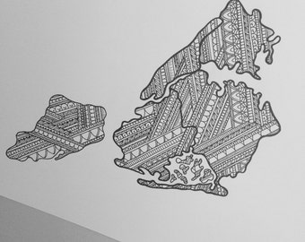 5 Boroughs of New York map