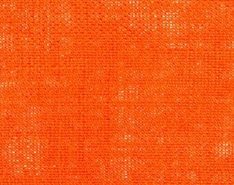 "11oz Bright Orange Burlap by the Yard - 60"" Wide, 100% Jute"