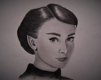 Custom Graphite Pencil Portrait