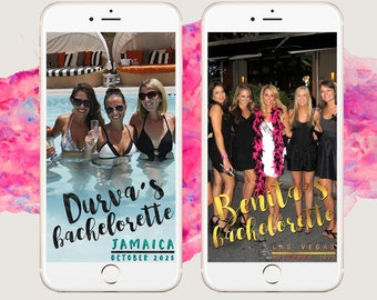 Bachelorette Snapchat Geofilter [FULLY CUSTOMIZABLE]