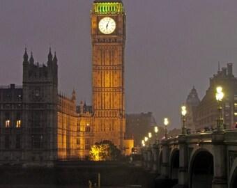 Big Ben Westminster, London, UK