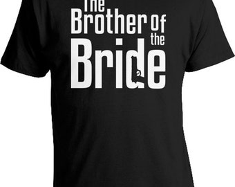 Wedding Party T Shirts Gifts For Brother In Law Shirt Bridal The