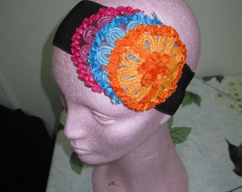 Fabulously colorful headband