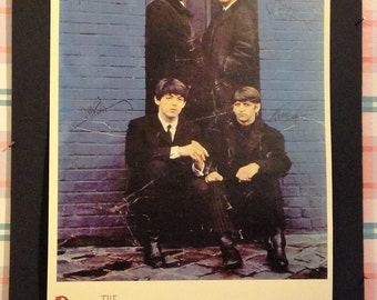 The Beatles Concert Vintage Poster Reproduction // John Lennon // Paul McCartney // Ringo Star // George Harrison