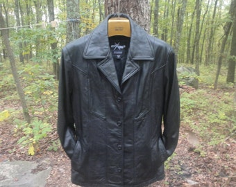 Wilsons Leather Jacket Size M