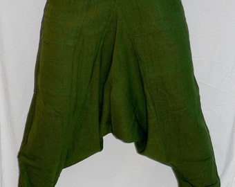 Green Hareem Pants