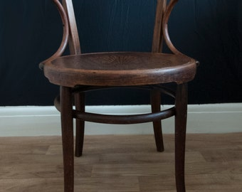 1920's Thonet Bentwood Armchair