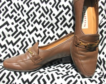 Vintage Leather Hobo Shoes