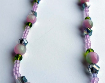 Pink Limeade Necklace