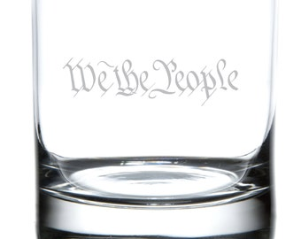 We The People - Whiskey / Rock Glass