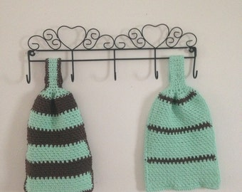 Crochet Hand Towels (set of 2)
