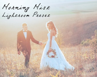 Morning Mist Soft Clean Lightroom Preset Professional Photo Editing for Portraits, Newborns, Weddings By LouMarksPhoto