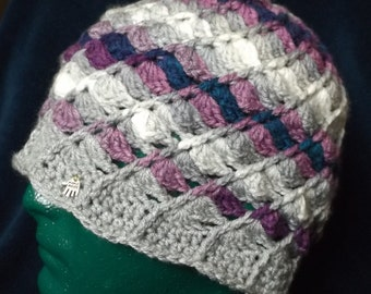 Swirly Crochet Cloche