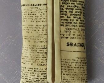 Tissue case #7 w/key ring