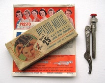 40's Presto-Matic Pin Curler. Automatic Pin Curl Tool