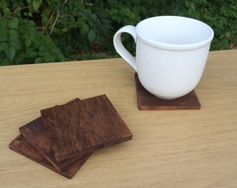 Wood Coasters - Plain