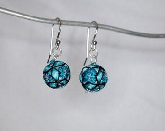 Temari Ball Earrings
