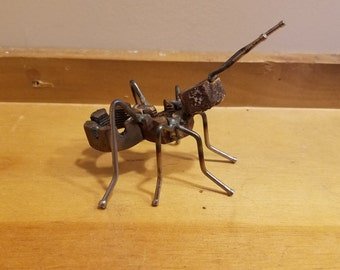 Ant made from Scrape Metal