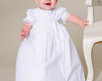 Eden Baptism, Christening or Blessing Dress for Baby Girls