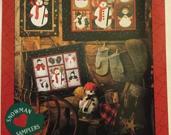 Snowman Samplers by Debbie Mumm