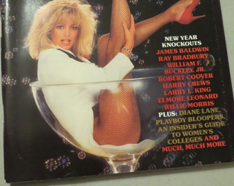Vintage Playboy January 1985 Magazine