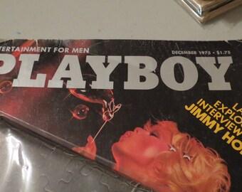 Vintage Playboy December 1975 Magazine