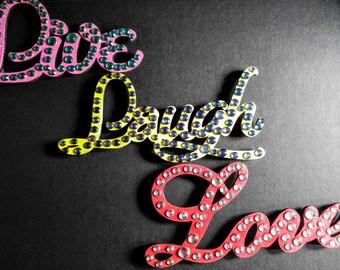 Live Love Laugh Magnets