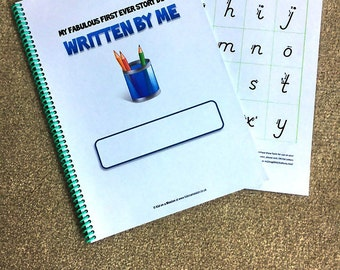 My First Guided Writing Story Book