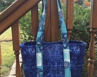 Tote Bag with 6 INNER Pockets