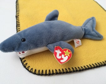 Crunch the Shark  Ty Beanie Baby Collection