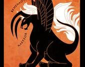 Behemoth - Final Fantasy inspired illustration