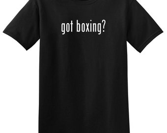 Got Boxing? Funny Boxing T-Shirt Tee Shirt Novelty Gym Workout Boxer NEW