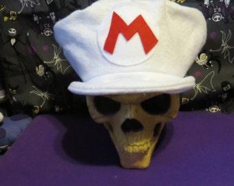 Flower Power Mario Inspired Costume Hat